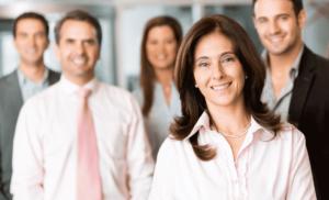 liderança em contexto empresarial